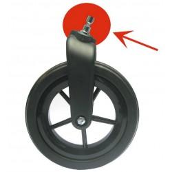 Pièce de fixation pour roue avant