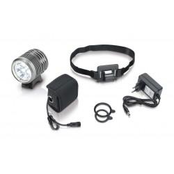 éclair.casque(lum.blanche)XLC Pro CL-F15 3000 lumen