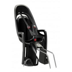Porte-bébé vélo arrière Hamax Zenith sur cadre Noir