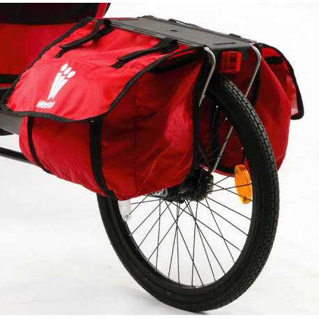 Weehoo Cargo kit - porte-bagages et sacoches