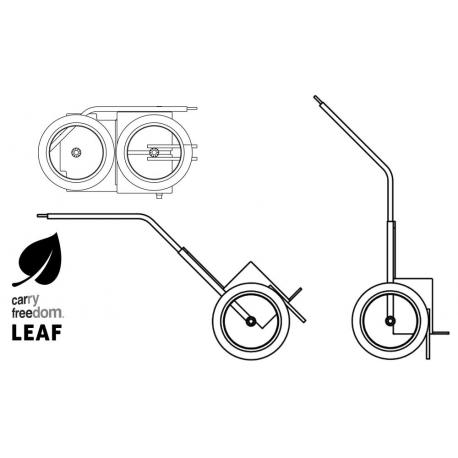 Remorque à vélo Carry Freedom Leaf