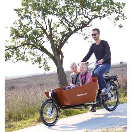 Biporteur Cargobike Classic Steps long