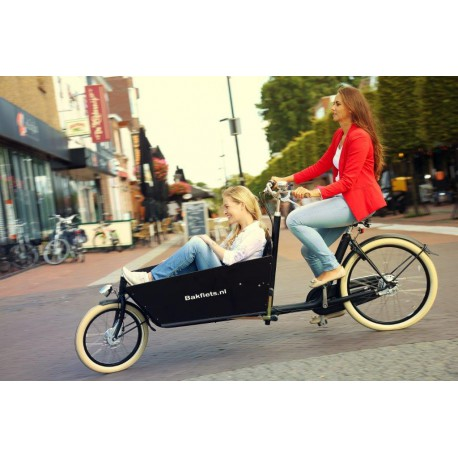 Biporteur Cargobike Cruiser Steps long