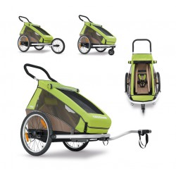 Croozer Kid for 1/2  remorque 1/2 places