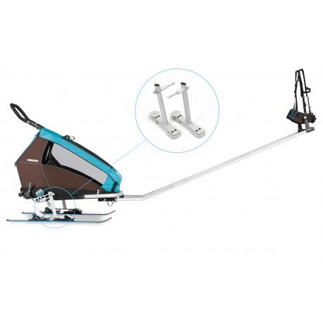 Croozer kit ski pour remorque