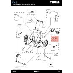Thule Plaquette de frein à disque - [40105237]
