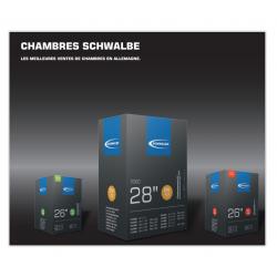 Chambre à air Schwalbe 24' 9A - [20-28/ 540-541]