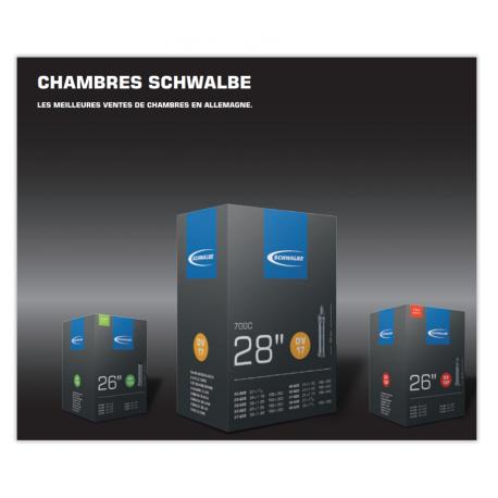 Chambre à air Schwalbe 20' 7B - [23-25/ 451]