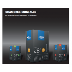 Chambre à air Schwalbe 26' 12A - [25-40/559]
