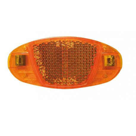Catadioptre latéral de roue - orange