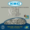 Chaîne vélo 9 vitesses KMC X9-SL - Axe creux usiné