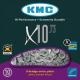 Chaîne vélo 10 vitesses KMC X10-73