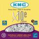 Chaîne vélo électrique 10 vitesses KMC X10-E
