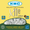 Chaîne vélo électrique 11 vitesses KMC X11-E