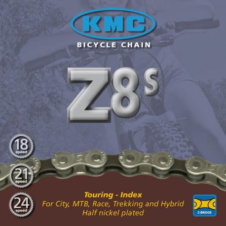 Chaîne vélo 8 vitesses KMC Z8S