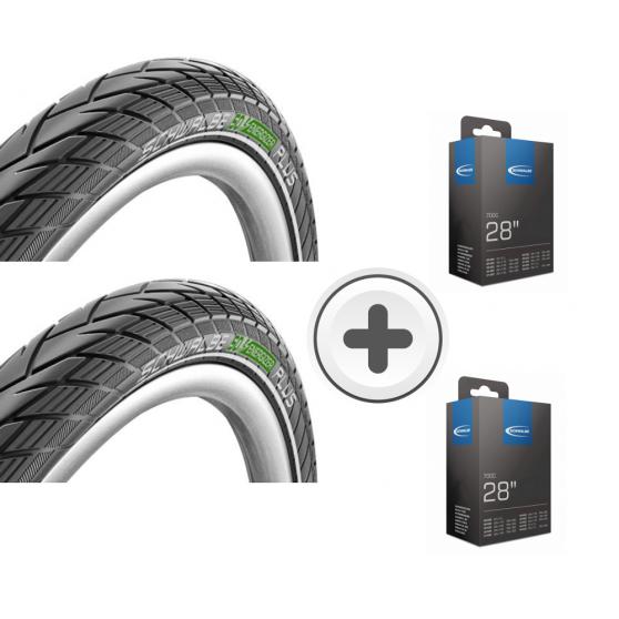 Pack promo pneu Schwalbe Energizer Life Oem - [pneu + chambre]