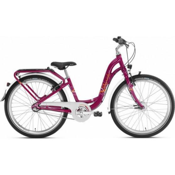 """Vélo enfant 24"""" Puky Skyride Light 24-3 berry"""