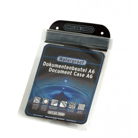 Porte-document plastifié Ortlieb D01 A6 - [15 X 11 cm]