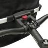 Panier textile Klickfix Bikebasket Oval S