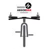 Guidon vélo amortisseur intégré Baramind City