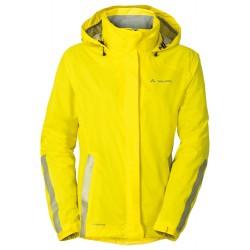 Veste pluie femme Vaude Luminum jaune