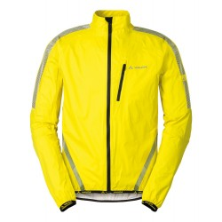 Veste pluie homme Vaude Luminum Performance jaune