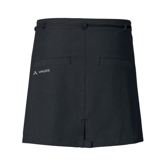 Jupe/Short vélo Vaude Tremalzo II noir