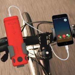 Enceinte Bluetooth phare et batterie d'appoint  Puridea I2 - 8000 mAh