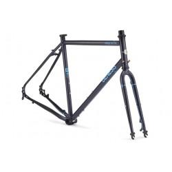 Cadre vélo acier Genesis Croix de Fer FS - Reynolds 725
