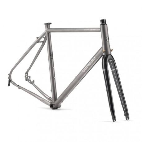 Cadre vélo titane Genesis Croix de Fer Ti - 3AL-2.5V