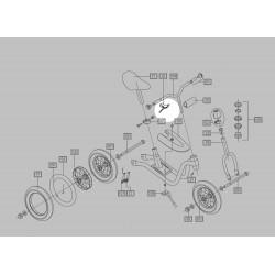 Poignée de frein Draisienne Puky - 00042417