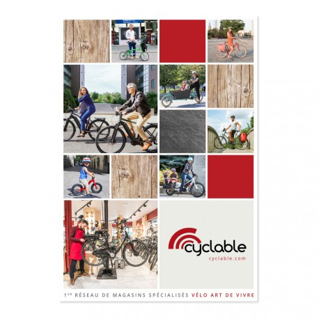 Magalogue Cyclable N°3 - 2017 - Pack magasin