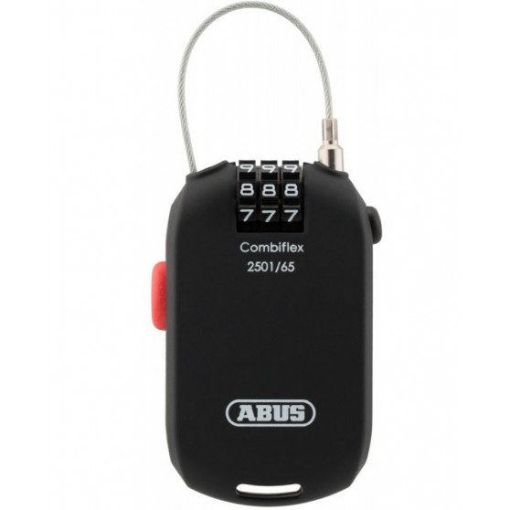 Antivol Casque et Sacoche Abus Combiflex 2501/65 câble