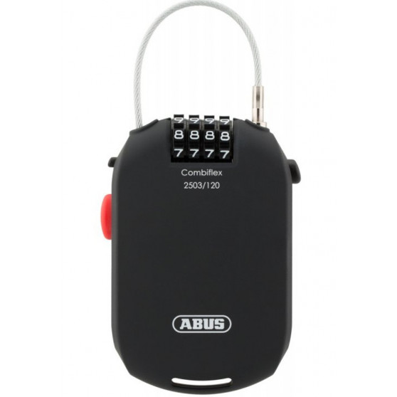 Antivol Casque et Sacoche Abus Combiflex 2503/120 câble