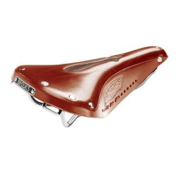 Selle de vélo cuir Brooks B17 Carved miel