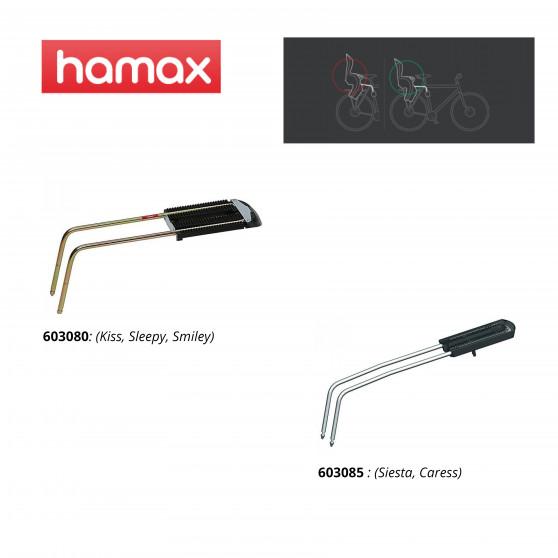 Adaptateur siège Hamax Extra Bar P4 - Dossier trop incliné en avant