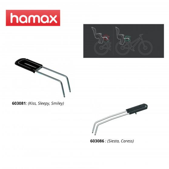 Adaptateur siège Hamax Extra Bar P2 - Abaisse le siège