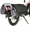 Sacoche vélo cargo YUBA 2-Go v1 compatible Spicy Curry