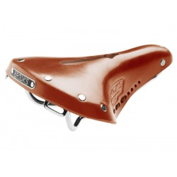 Selle de vélo cuir Brooks B17 Carved Short miel