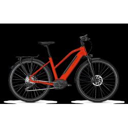 Vélo électrique Kalkhoff Integrale Excite B11 trapeze rouge