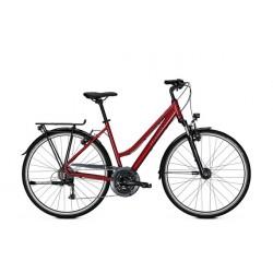 Vélo de randonnée Kalkhoff Voyager HS trapeze rouge