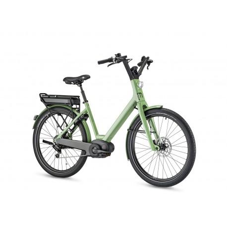 Vélo électrique Moustache Lundi 26.5 Vert profil