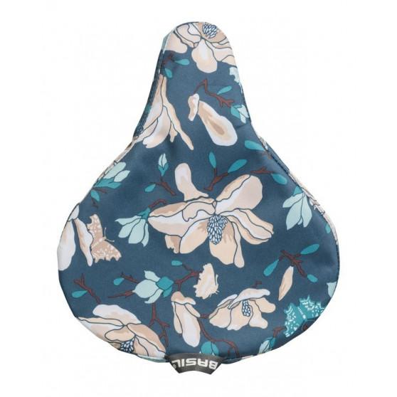 Couvre-selle Magnolia Basil bleu