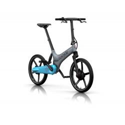 Vélo pliant électrique Gocycle GS Gris/Bleu clair
