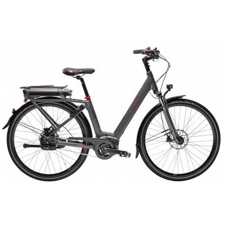 Vélo électrique Peugeot eC01 Automatique NuVinci gris