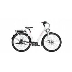 Vélo électrique Peugeot eC01 NuVinci Belt Blanc