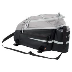Sacoche porte-bagages Vaude Silkroad L 11L gris/noir