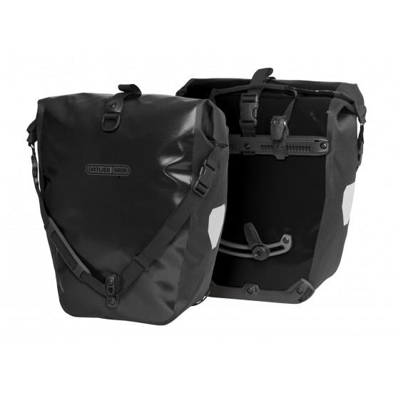 Paire de sacoches arrière Ortlieb Back-Roller Free 2 x 20L noir