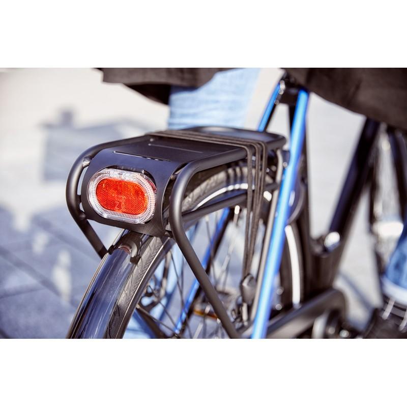 ... Vélo de ville Gazelle CityGo C3 Homme Black porte-bagages ...