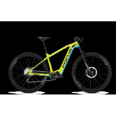VTT électrique Focus Bold2 29 Pro Jaune/Bleu haut